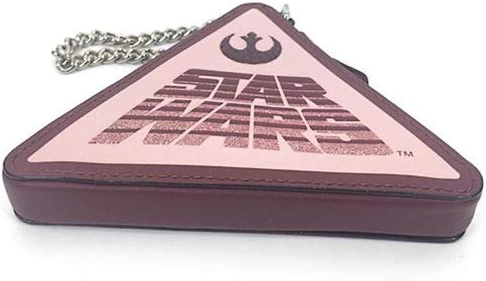 Coach X Star War Triangle Leather Coin Case F88489