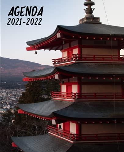 Agenda 2021 2022 Japón: Agenda Escolar 2021-2022 semana vista | Planificador semanal para niñas y niños | material escolar Ideal para Estudiantes de ... secundaria | Portada Japon manga anime