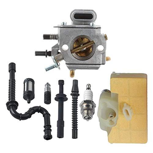 Kit de carburador de reparación con filtro de aire Kit de recarga de línea de combustible para cortasetos MS290 310 cortasetos cortasetos inalámbrico gasolina cortasetos cortasetos cortasetos soplador