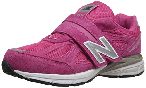 New Balance Baby Boys Made in US 990 V4 Sneaker, Pink/Pink, 2 Infant
