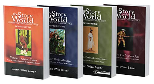 Story of the World Text Bundle, Paperback: History for the Classical Child: Ancient Times Through the Modern Age: 0