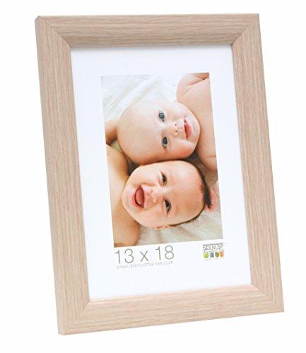 Deknudt Frames S54SJ1 Cadre Photo Bois Chêne Naturel 28 x 35 cm