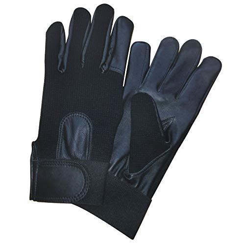 Polizei Handschuhe Top Qualität Für Sicherheitsdienst Echtes Leder Mit Elastan Material