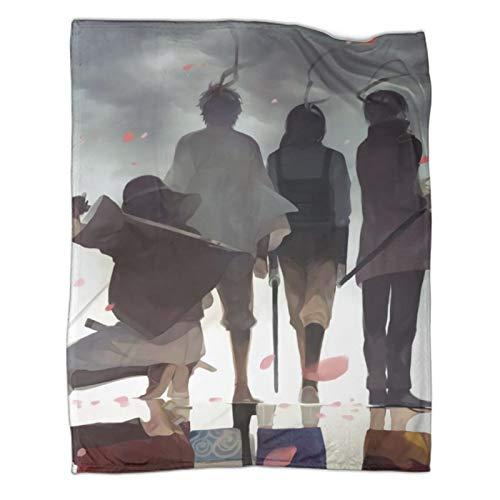 Xaviera Doherty Gintama Silver Time Schwere Decke, 150 x 200 cm, weiche und bequeme Bettdecke, Kinderbettwäsche