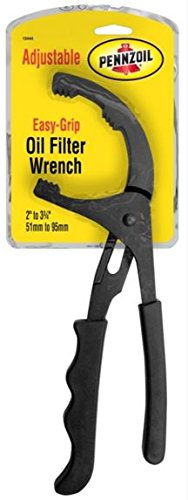 Custom Accessories Pennzoil 19444 Easy Grip Plier Type Oil Filter Wrench