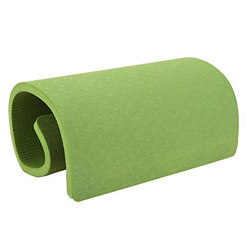Yoga Mat Fitness Knee Pad Elbow Cushion Mat for Yoga Pilates Fitness Planks Floor Workouts (Dark Green)