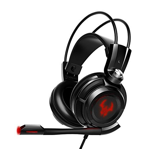 EasyAcc G1 Gaming Headset Virtual 7.1 Channel Surround Sound Noise Isolation...