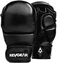 Revgear Pinnacle MMA Gloves   Classic MMA Sparring Glove Design   Multi Layer Foam Padding Over The Knuckles   Thumb Prote...