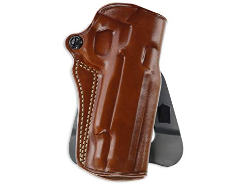 Galco Speed Master 2.0 Holster Right Hand Compatible with S&W M&P 380 Shield EZ Leather Tan