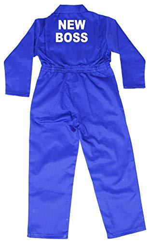 Acce Products Nouveau Boss Little Helper bébé, Enfant, Enfants, Travail, Travail, Augmentation de Taille 1–7 Ans - Bleu -