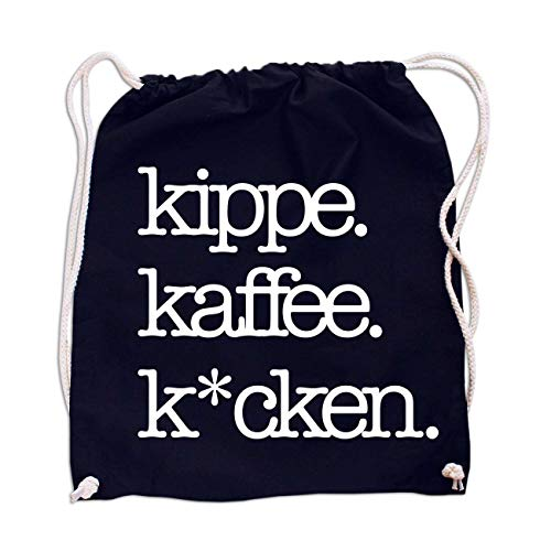 Rucksack Kippe Kaffee Kacken