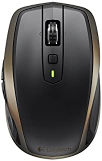 Logitech MX Anywhere 2 Wireless Mouse, Bluetooth or 2.4GHz Wireless Mouse with USB Unifying Receiver, 1000 DPI Any Surface...