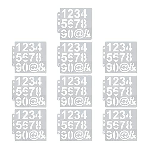xiji Plantilla de Pintura Auxiliar, práctica Plantilla de representación portátil para álbum de Recortes para Pintura de Tela para fabricación de Tarjetas para Manualidades de Papel