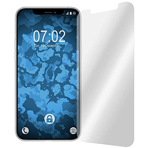 PhoneNatic Confezione da 6 pellicole protettive trasparenti, compatibili con Apple iPhone 12