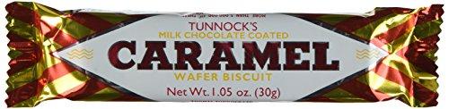 B008PWYSU8 Tunnock's Caramel Wafer Biscuits 30g (Box of 48)