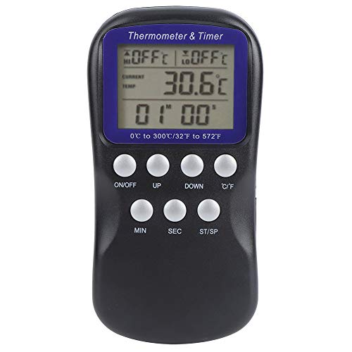 Termómetro Digital Termómetro De Alimentos Eléctricos Digitales para Horno Barbacoa Parrilla Cocina Accesorio De Cocina