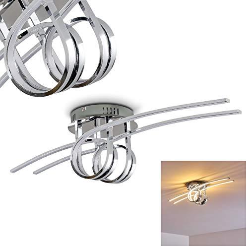 LED Lámpara de techo Casale, 1 x 29W por 2400 Lumens, 3000 Kelvin (luz blanca cálida)