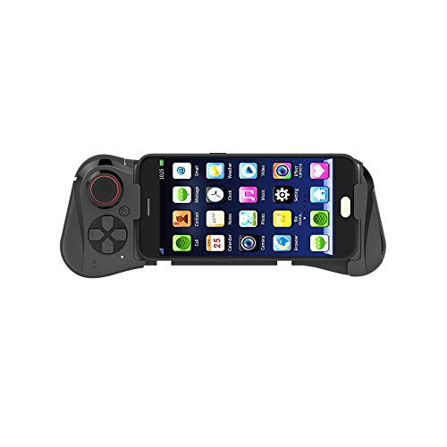 XWY Inalámbrica Bluetooth Pro Gamepad, Gamepad móvil Palanca de Mando del VR-360 Wireless Grado Rocker 3D Aplicar para Smartphone Tablet PC Phone Smart TV