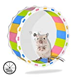 Hamster Wheel Toy Silent Exercise Runner 6.69 Inches Diameter Cage Attachment Running Wheel for Hamster Entertainment Stay Healthy