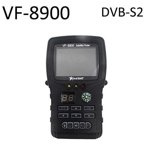 Best Buy! N/A Hot HD Satfinder Star Search VF-8900D DVB-S2 Satellite Meter Satellite Finder Built-in...