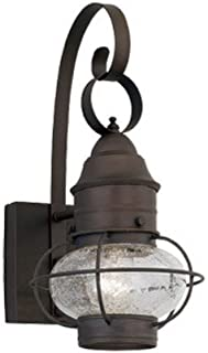 Designers Fountain 1761-RT Nantucket Wall Lanterns, Rustique