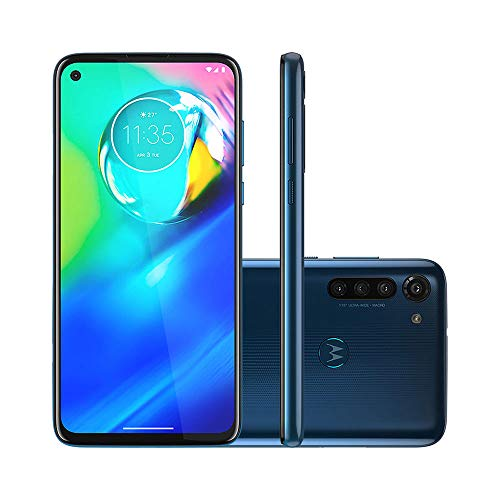 Celular Motorola Moto G8 Power Azul 4gb Tela 6.4 64gb Camera 16mp 8mp 8mp 2mp