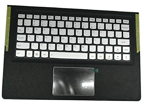 ZGQA-GQA Nuevo Teclado de Repuesto para computadora portátil Bisel Compatible con Lenovo Compatible con Yoga 900S 900S-12ISK Inglés EE. UU. 5CB0K93860 Plata con retroiluminación Nuevo
