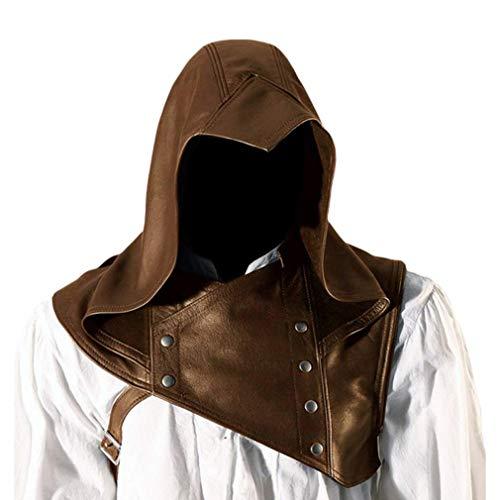Mcaishen Disfraces De Rendimiento Para Hombres Nuevo Renacimiento Cosplay Disfraz Pu Pi Actor Asesino Sombrero De Vestir Moda Vintage Sombrero Medieval
