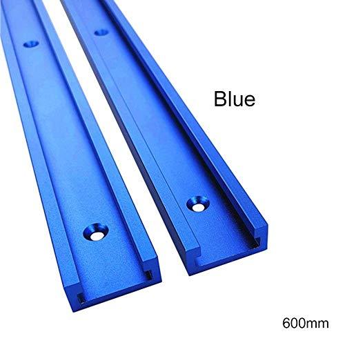 YLOVER 1 Stück 30 Typ T-Slot Gehrungsschiene T-Schienen-Gehrungsvorrichtungs-Befestigungs-Schlitz-Aluminium,T-Schienen-Gehrungsvorrichtungs-Werkzeuge für Holzbearbeitung oder Router Tischsäge