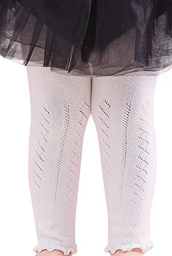 Plus Nao(プラスナオ) レギンス ベビー 赤ちゃん 女の子 女児 タイツ インナーウエア シンプル カジュアル 75cm 95cm - 95cm