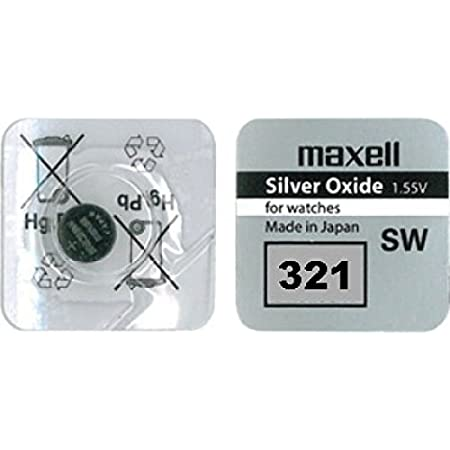 Maxell 321 Sr616sw Watch Battery Button Cell Elektronik