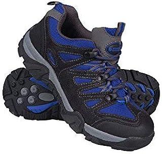 Mountain Warehouse Cannonball Kids Walking Shoes ?Durable Hiking Shoes Cobalt 1 Child US [並行輸入品]