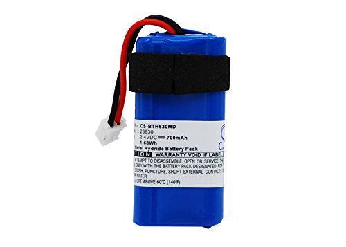 Cameron Sino 700mAh / 1.68Wh Battery Compatible With BrandTech accu-jet proRainin Controller PX-100, Pipet-XTM