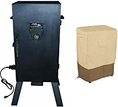 Masterbuilt 20070210 30-Inch Black Electric Analog Smoker with Classic Accessories Cover