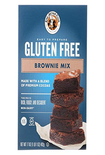 King Arthur Gluten Free Brownie Mix 17 Ounce