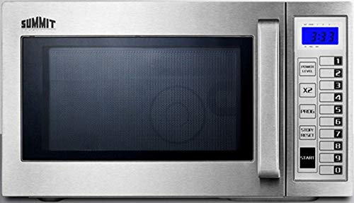 Summit SCM1000SS Microwave, Stainless-Steel
