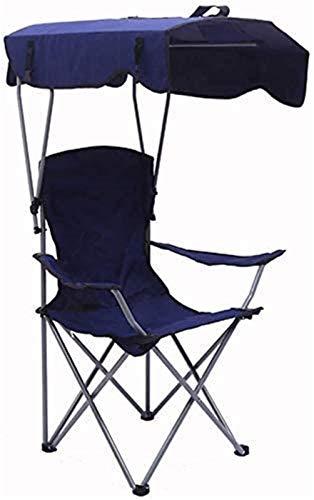 Silla tumbona Tumbonas tumbonas sillón reclinable sillas de camping portátil, tumbona plegable con tumbonas con toldo silla de playa con toldo reclinador asiento compacto ultraligero pesca de playa al