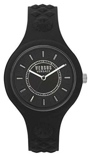 Versus by Versace dames analoog kwarts horloge met siliconen armband VSPOQ2018