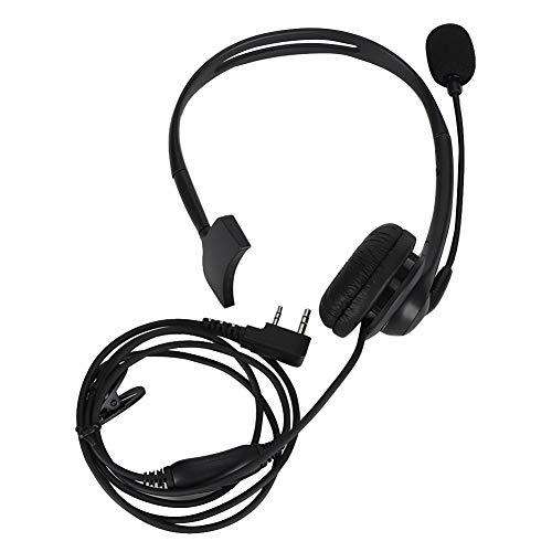 K Head Mic-hoofdtelefoon, 140 cm / 55.12 inch hoofdtelefoon met 270 ° draaibare microfoon