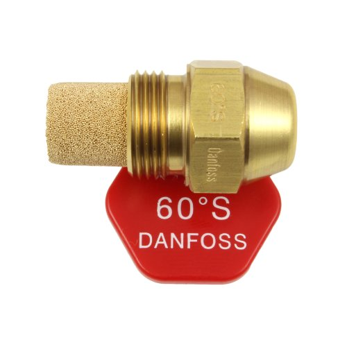 comparateur Danfoss 030F6910 JETOD Type S – 0,55 gallons US / h – 60 degrés, bronze