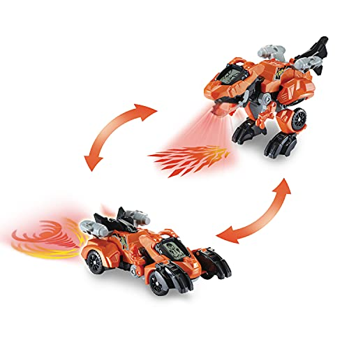 Switch & Go Dinos - Fire-T-Rex - Vtech 80-538004 Spielzeugdinosaurier, Mehrfarbig