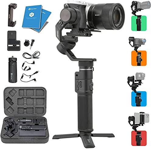 FeiyuTech G6 Max 3 assi Vlog Supporto stabilizzatore asse cardanico asse Zoom / Messa a fuoco Ripresa verticale orizzontale 1,2 kg Carico utile per smartphone, fotocamere compatte, action e mirrorless