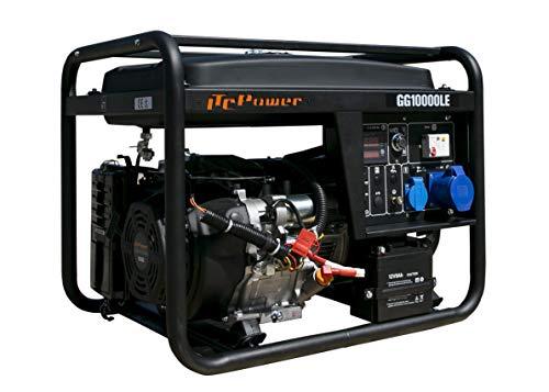 ITCPower IT-GG10000LE Generador Gasolina, 8200 W, 230 V, negro