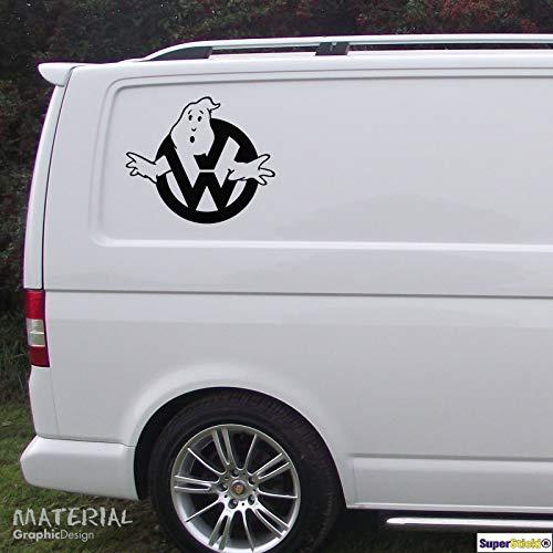SUPERSTICKI Ghostbuster Auto Aufkleber ca 30 cm Aufkleber Sticker Decal aus Hochleistungsfolie Aufkleber Autoaufkleber Tuningaufkleber Racingaufkleber Rennaufkleber Hochleistungsfolie fü