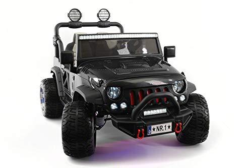 2021 Trail Explorer 12V Kids Ride-ON CAR Truck with R/C Parental Remote | Black