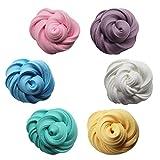 KinshopS Fai da Te 3D Fluffy Foam Clay Slime DIY Soft Cotton Clay Antistress per Bambini