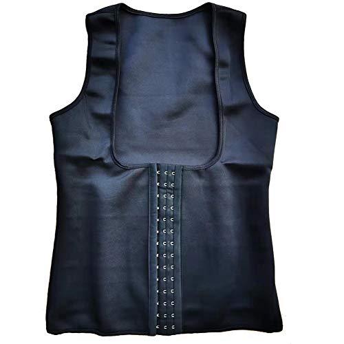 Néoprène Femmes Gilet Body Shaper Minceur Ceinture Formateur Corset Modélisation Courroie Shapewear,Noir,M