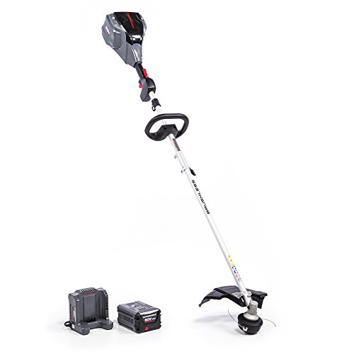 Save %5 Now! POWERWORKS 60V 14-inch Brushless Top Mounted String Trimmer, 2.5Ah Battery Included ST6...