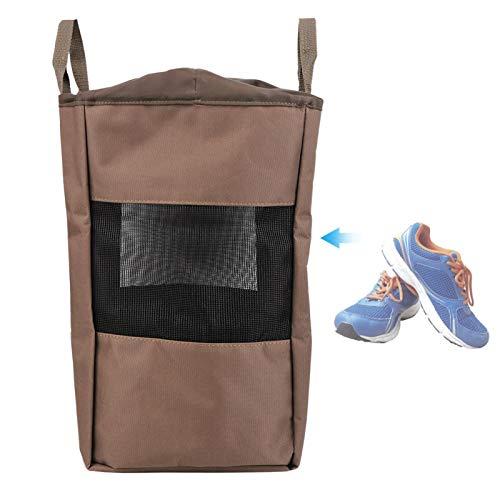 FOLOSAFENAR Tragbarer Angelbeutel Belüfteter Outdoor-Jagdfischersack Atmungsaktiv, zum Angeln(Outdoor Hunting and Fishing Shoe Bag)