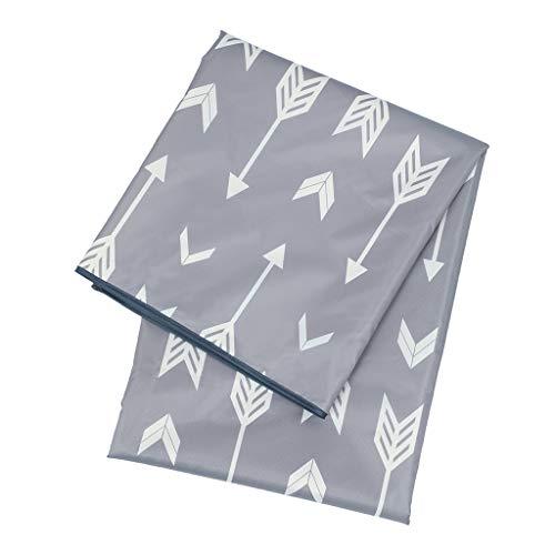 freneci Spritzschutzmatte für Hochstuhl, Splat-Matte Bodenspritzschutzmatte wasserdicht Bodenschutz Matte Unterlage 130x130 cm - Stil 4